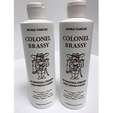 Colonel Brassy Surface Cleaner 2-pack 16oz Bottle Polish