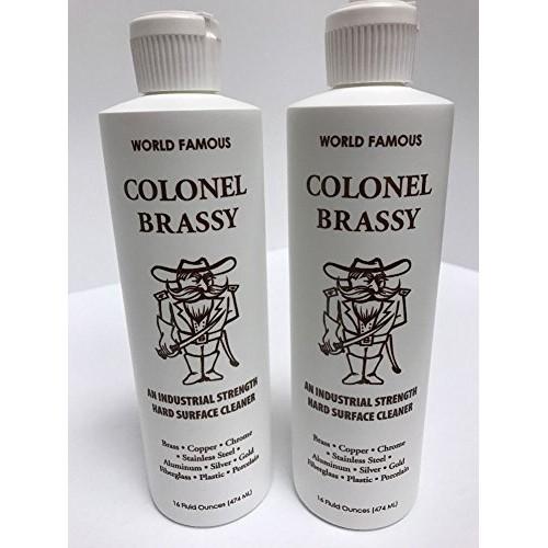 Colonel Brassy Surface Cleaner 2-pack 16oz Bottle Polish