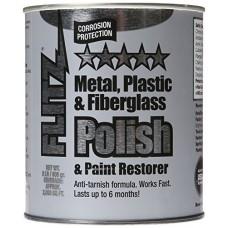 Wholesale Bulk Flitz CA 03518-6A Metal, Plastic and Fiberglass Polish Paste, 2.0 lb. Quart Can, 6-Pack