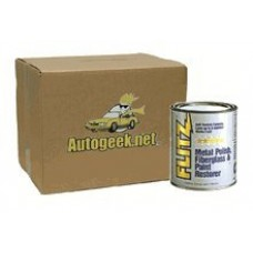 Flitz Metal Polish, Fiberglass & Paint Restorer 2 lb. - Case of 6