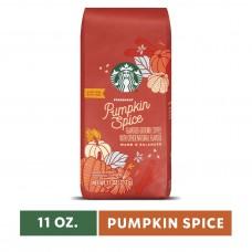 Wholesale Case (24) of Starbucks Pumpkin Spice Flavored Ground Coffee, Medium Roast 11-Ounce Bag